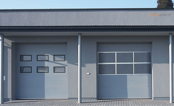 Aluminijasta garažna vrata