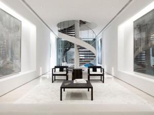 Okrogle stopnice naredijo dom zelo atraktiven