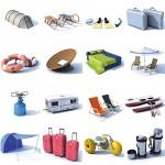 Kakšno opremo potrebujete za kampiranje?