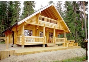 Hiša iz brun
