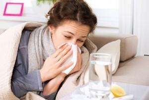 težave s prehladom