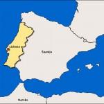 Portugalska na jugozahodu Evrope