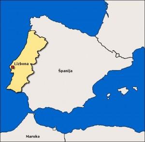 potovanje na portugalsko