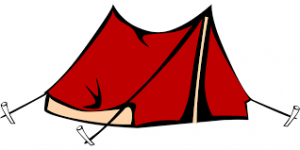 šotor za kampiranje