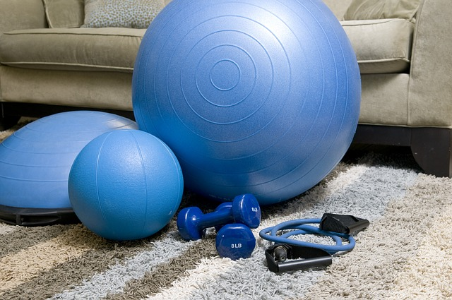 domača fitnes oprema