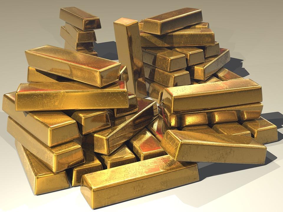 Z zlatom lahko vrčujemo